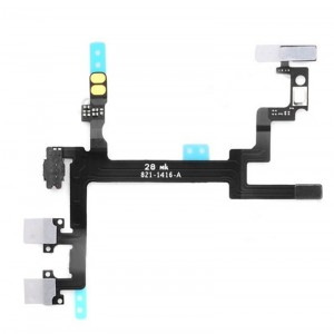Replacement Original Switch Flex for iPhone 5 Black