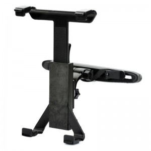 Car Seat Headrest 360 Degrees Rotate Mount Holder for The New iPad - Black