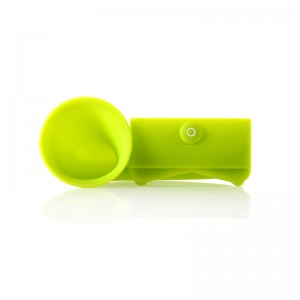 Portable Horn Stand Amplifier Speaker for iPhone 4/4S (Green)