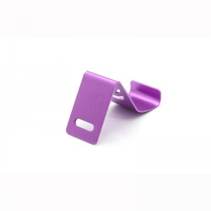 Mini Aluminum Stand Holder for iPhone / Cell Phone / MP4 (Purple)
