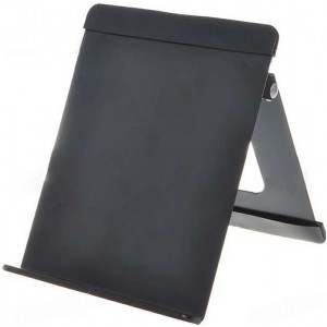 Compact Metal Stand Holder for iPad/Tablet - Black