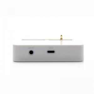 Lightning 8-Pin Data / Charging Dock Station with 3.5mm Audio Jack for iPhone 5