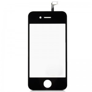 Replacement Glass Touch Screen Digitizer Model for iPhone 4 - Black