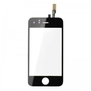 Replacement Toughened Glass Touch Screen for iPhone 3GS - Black