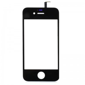 Replacement Touch Screen Digitizer for iPhone 4s - Black + Transparent