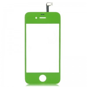 Replacement Glass Touch Screen Digitizer for iPhone 4 - Green