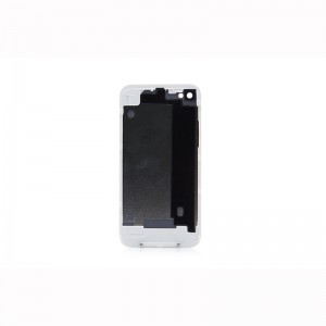 Replacement Backside Cover Case for iPhone 4 (White)