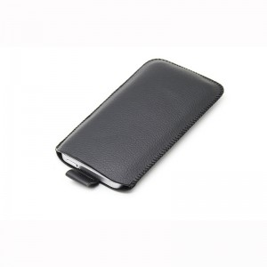 Protective PU Leather Pouch Case for iPhone 5