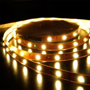 Urparcel 5M 300LEDs SMD 5050 Flexible LED Strip Lights Super Bright Waterproof(Warm White)