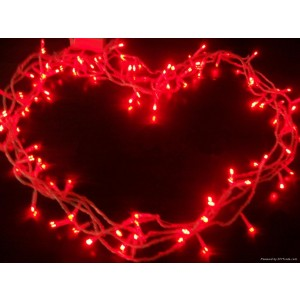 Urparcel 10M 100 LED Copper Wire Christmas Outdoor String Fairy Light(Red)