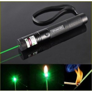 EastVita Adjustable Focus Military Green Laser Pointer Pen 1mw 532nm Zoomable Burning New
