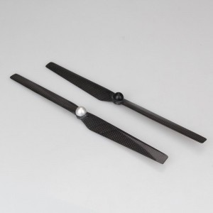 Qiyun Selflock Carbon Fiber Propellers Pros 1330 for Yuneec Q500 RTF Quadcopter Sold in Pairs