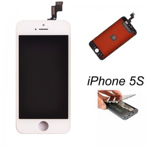 EastVita Touch Screen Digitizer LCD Display Full Replacement Assembly for iPhone 5s White