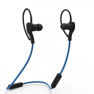 EastVita Bluetooth 3.0+ EDR Stereo Wireless Sport Headset Earphone Earphone Earbuds Headsets Color Blue