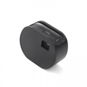 TopOne Charging Charger Cradle Dock and Data Lines for Lenovo SW-B100 Smartband Bracelet Black