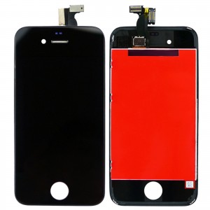 Eastvita Full Set LCD Screen Replacement Digitizer Assembly Display Touch Panel for Apple iPhone 4 Black