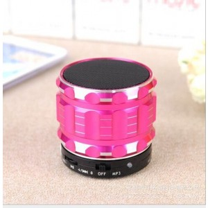 Eastvita Portable Mini Bluetooth Speakers Wireless FM Radio Support SD Card For iPhone Color Pink