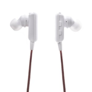 Eastvita Bluetooth Stereo Handsfree Jogger Running Sport Headphones Earbuds Headset color:white