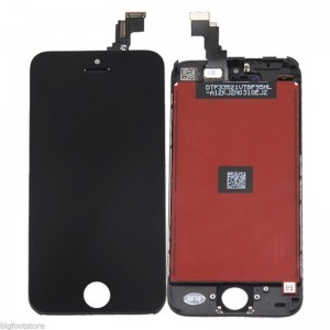 EastVita Touch Screen Digitizer LCD Display Full Replacement Assembly for iPhone 5c Black