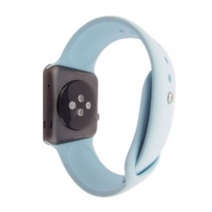 EastVita SILICONE WATCH BAND STRAP BRACELET WRISTBAND FITNESS REPLACEMENT FOR APPLE 38MM WATCH TURQUOISE M/L