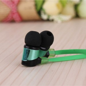 Eastvita Stereo 3.5mm In Ear Headphone Earphone Earbud for iPhone iPod Samsung PC Color:green