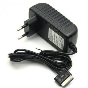 TopOne EU Plug AC Charger Power Adapter For Asus Eee Pad Tablet Transformer TF101 TF201 Black
