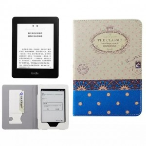 Eastvita Slim Smart Magnetic PU Case Cover For Kindle Paperwhite Protected Dot