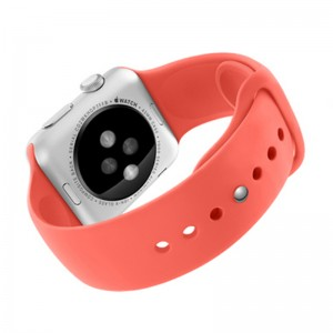 EastVita Strap Bracelet Band Silicone Fitness Replacement for Apple Watch 38mm Color Pink