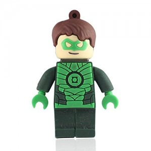 EastVita Cool Lego Green Lantern USB Flash Drive 8GB USB 2.0 Memory Stick USB Pen Drive