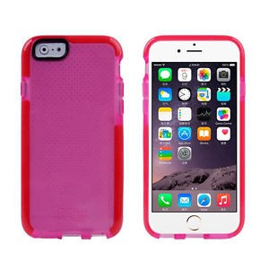 Tech21 Basketball Lines Drop Protective Classic Mesh Sport EVO Shell D3O Case For iPhone 6 and 6S Rose and Orange