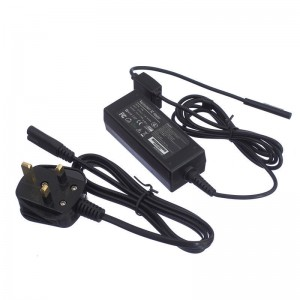 TopOne EU Plug AC Charger Charging Adapter and USB Port For Microsoft Surface Pro 3 Black
