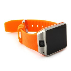 EastVita GV08 Bluetooth Smart Watch Mobile Phone Camera Touch Screen for Android Samsung and IOS Apple iPhone Smartphone(Orange)