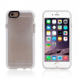 Tech21 Basketball Lines Drop Protective Classic Mesh Sport EVO Shell D3O Case For iPhone 6 and 6S White