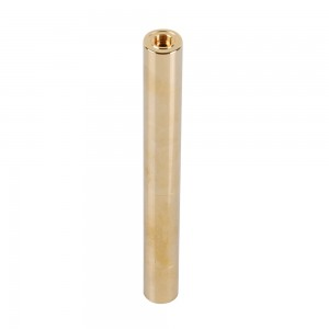 EastVita 1 mw Cylindrical Aerometal Blue Laser Pointer; Color: Gold