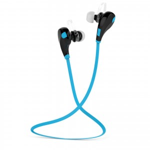 EastVita QY7 Bluetooth Wireless Headset Stereo Headphone Earphone Sport Universal Handfree Color Blue