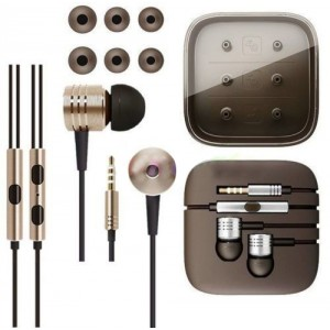 Eastvita 3.5mm Piston In-Ear Stereo Earbuds Earphone Headset Headphone For Xiaomi Color Local tyrants gold