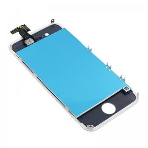 Eastvita Full Set LCD Screen Replacement Digitizer Assembly Display Touch Panel for Apple iPhone 4 White