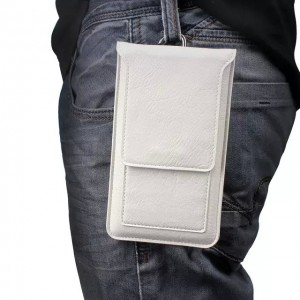 Eastvita Universal for Cell Phone Wallet Bag Purse Pouch Sleeve Case CardPocket Leather Large White