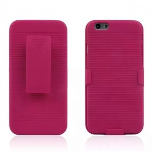 Eastvita New Hot Sale General Apple iPhone 6(4.7) and iPhone 6S Ultra Slim Hard Skin Case Cover Shell Supporting Frame Three In One Mobile Phone Protection Shell Shock-Absortion Impact Resistant For Your Smartphone Must-have Cell Phone Accessory Rose Red