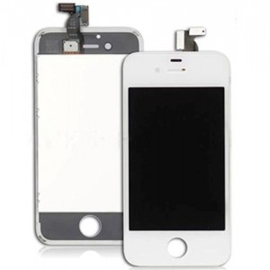Eastvita Full Set LCD Screen Replacement Digitizer Assembly Display Touch Panel for Apple iPhone 4s White