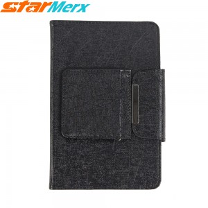 7 inch/8 inch Keyboard Case Holster with lines; Color: Black