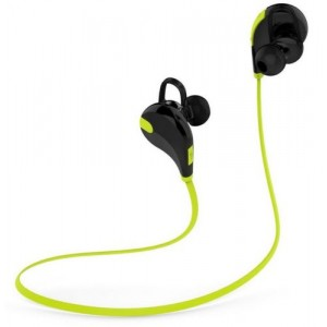 Eastvita Hot Sale New Bluetooth Wireless Headset Stereo Headphone Earphone Sport Universal Handfree Yellow