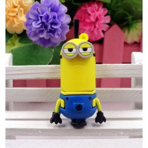 Cartoon Minions toy model USB 2.0 Memory Stick Flash pen Drive 2GB