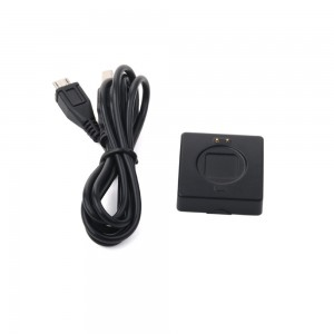 TopOne Black Charger Adapter and Data Lines for Mio Fuse 59P-LRG Activity Tracker