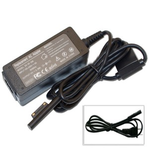 TopOne 12 V 2.58 A New AC Adapter Power Charger For Microsoft Surface Pro3 1625 USB plug Black