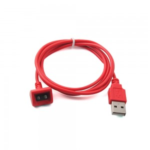 New Hot Magnetic USB Charging Charger Cable For Jawbone 2/3 Prime Headset (Red)