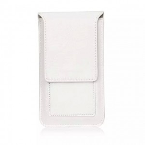 Eastvita Pouch Retro PU Leather Belt Holster Pocket Sleeve Bag Case For Cell Phone Small White