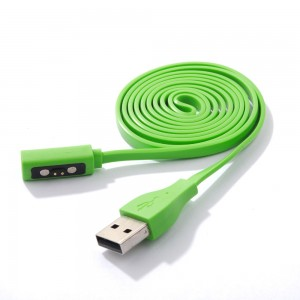Eastvita Hot Sale New USB Charger Cord Charging Cable For Pebble Time Watch Wristwatch Exceptional Birthday Best Price Gift Green