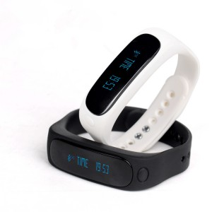 EastVita E02 Bluetooth Smart Wrist Band Bracelet Watch Fitness Tracker for Android IOS(White)