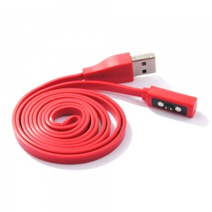 Eastvita Hot Sale New USB Charger Cord Charging Cable For Pebble Time Watch Wristwatch Exceptional Birthday Best Price Gift Red